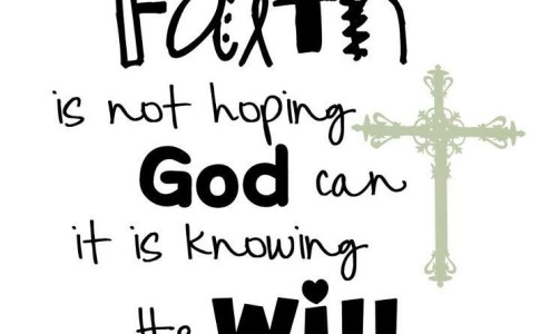 knowing-god-will